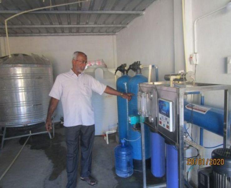 Materiaaldistributie wateraansluiting voor 20 families